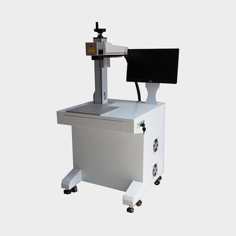 LX-A202 Hot Selling Table Desk Fiber Laser Marking Machine 01