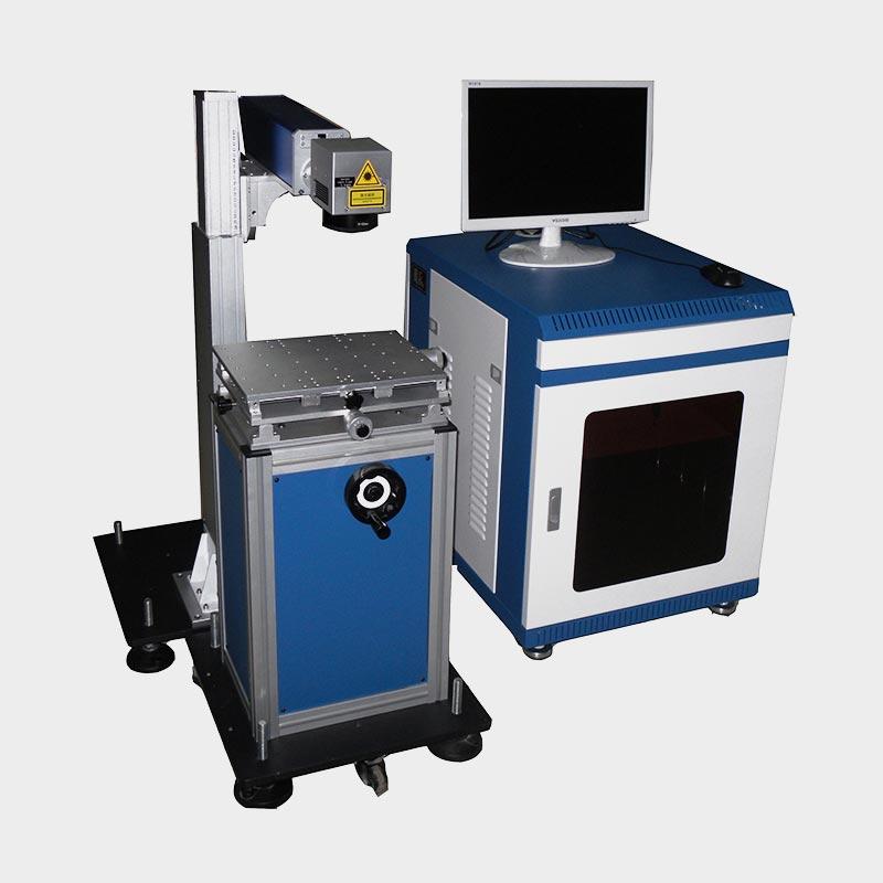 LX-A204 Cabinet Type Table Desk Fiber Laser Marking Machine