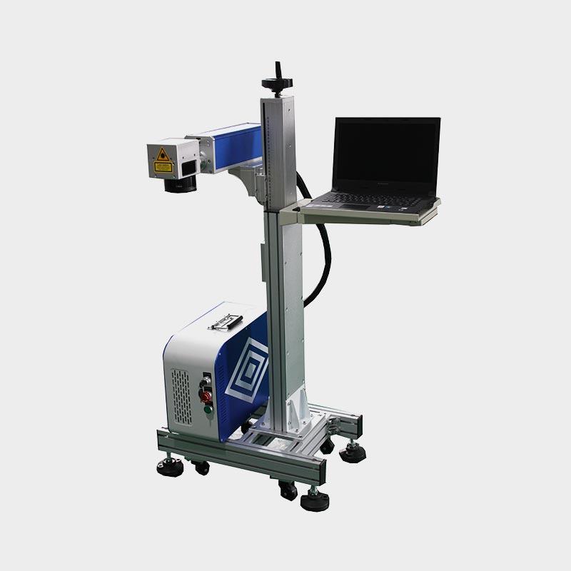 LX-A302 Online Flying Fiber Laser Marking Machine 20W/30W/50W